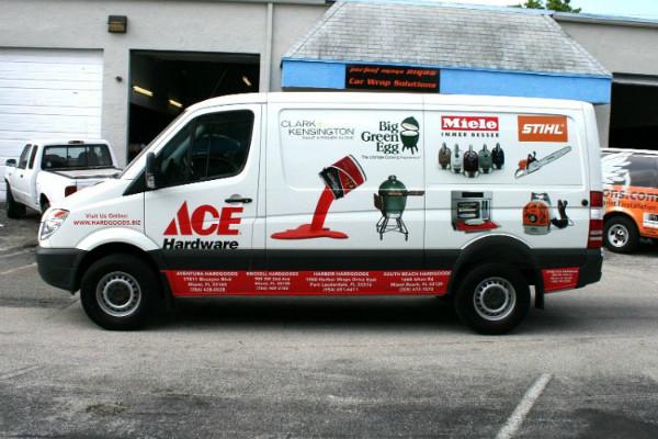 carner брендирование фургонов