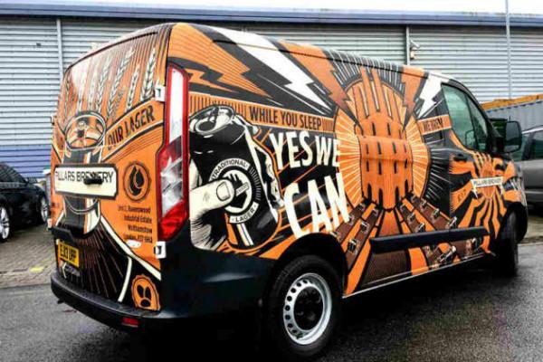carner брендирование микроавтобусов стоимость