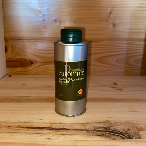 Huile d'olive bio 25cl