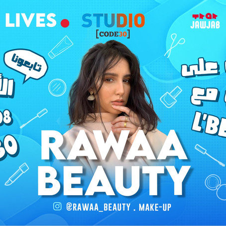 Rawaa beauty : la finaliste de Global Social Awards 2019 sur studio code 30