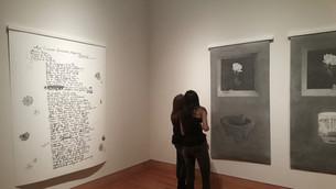 Installation view, Hispanic Heritage Month Exhibition