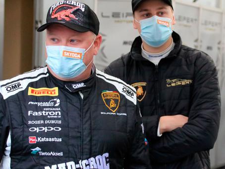 Niskanen ja Eskelinen hamuaa Lamborghini Super Trofeo Euroopanmestaruussarjan hopeamitalia