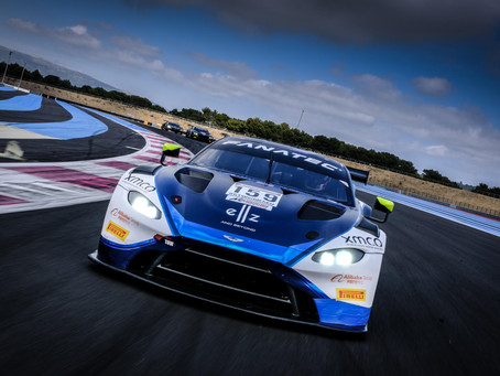 Tuomas Tujula debytoi Aston Martinin ratissa Ranskassa