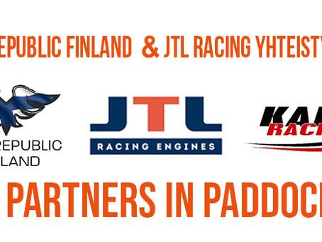 JTL Racing ja Kart Republic Finland yhteistyöhön!