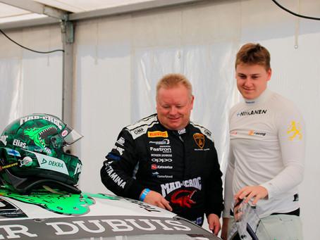 Elias Niskanen ja Mikko Eskelinen tavoittelevat Lamborghini Super Trofeo EM-sarjan hopeaa