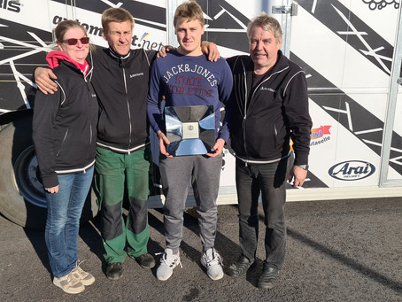 Elias Niskaselle historian ensimmäinen Formula Open Finland -sarjan voitto!