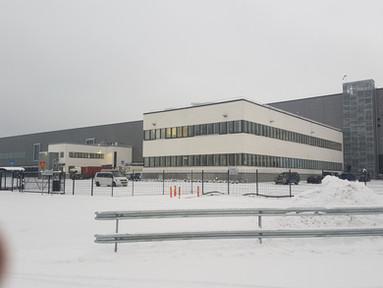 Lidl Keskusvarasto, toimistot, FIRA: lämpörappaus 1200m2