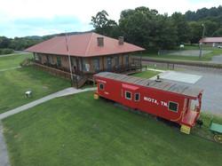 Aerial Niota Depot