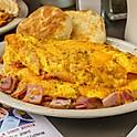 Ham-n-Cheezer Omelet