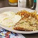 Chicken Fried Steak & Eggs
