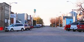 Main Street Kimball SD