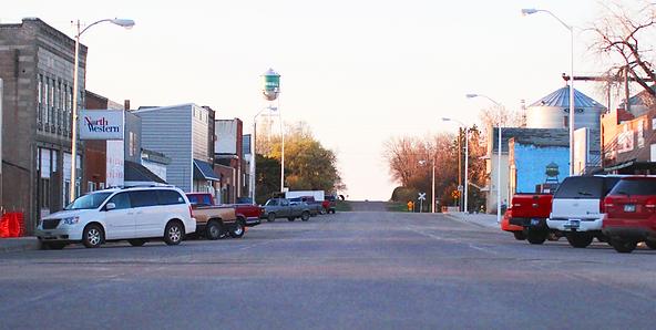 Main Street Kimball South Dakota