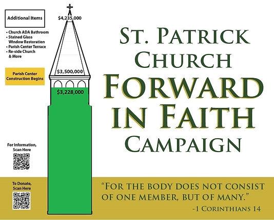 St Patrick Campaign outside sign $3.2M.j