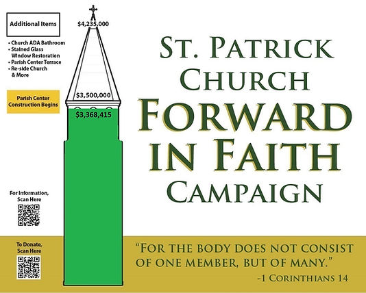 St Patrick Campaign outside sign $3.3M.j
