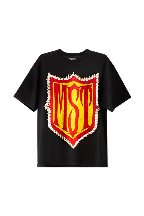 Red and Yellow Patch Tee