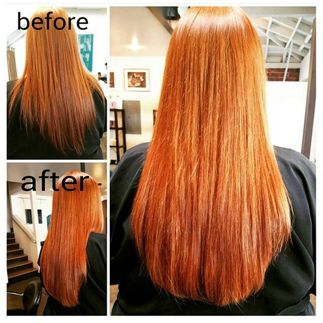 Color and hair extensions