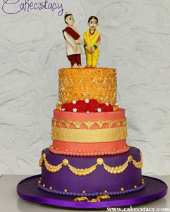 Wedding cake #3 of the season...jpg