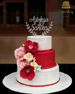 How beautiful is this cake_ The colors a