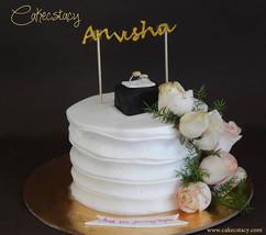 Engagement cake #cakecstacy #cakes #happ