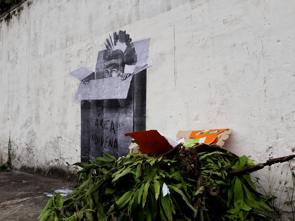 Área Indígena, Centro, Niterói, 2019