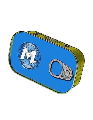 Pack 3 adesivos METRÔ Rio (Transporte Enlatado) 9x7 cm