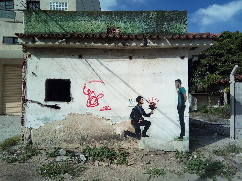 Afeto afeta, Itaipu, Niterói, 2017