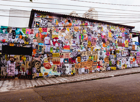 PEGLAM Paste Up International   Edição São Paulo