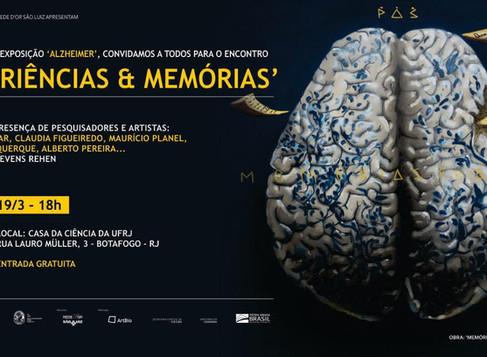 """Encontro """"Experiências e Memórias"""" em Botafogo"""