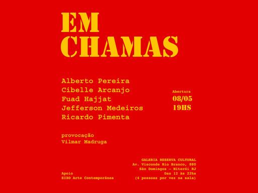 Exposição EM CHAMAS no Reserva Cultural Niterói