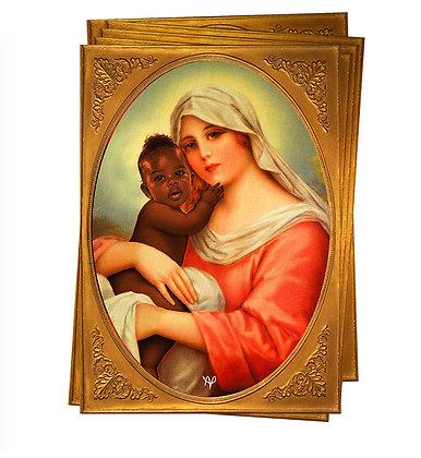 Pack 5 Adesivos #JesusPretinho Brylhante ORYGINAU