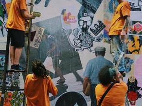 Movimento Urbano de Resistência e Arte do Lambe: Festival M.U.R.A.L