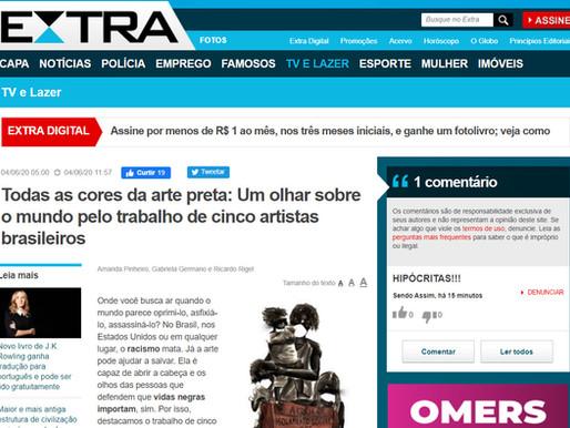 Jornal EXTRA / Um olhar sobre o mundo pelo trabalho de cinco artistas brasileiros