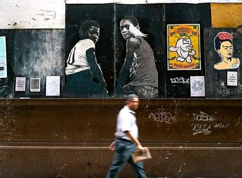 Arte urbana em tempos de COVID-19
