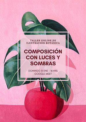 COMPOSICIÓN CON LUCES Y SOMBRAS