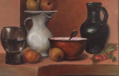 Composizioni pittoriche allo Spazio Arte