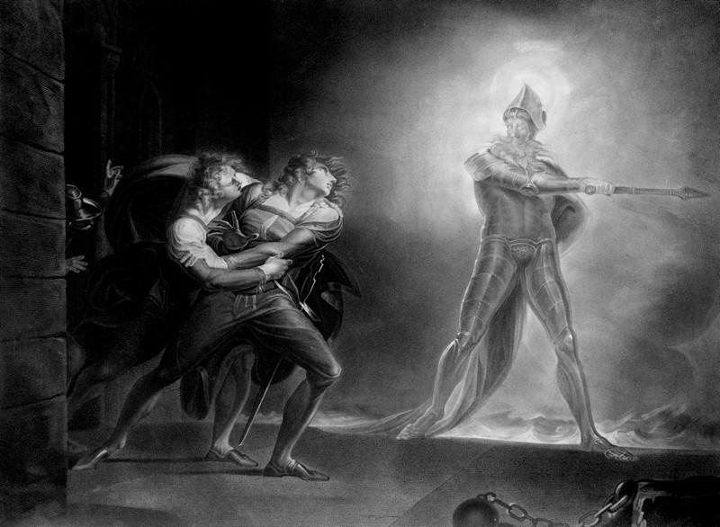 Hamlet, Prince of Demark di J.H. Fuseli (particolare)