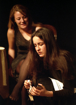 2004 - Le serve (J.Genet) regia di Nino Campisi