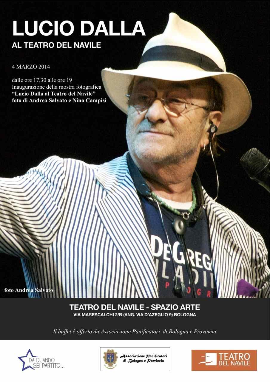 Lucio Dalla al Teatro del Navile