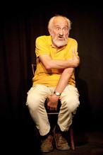 Enzo Robutti al Teatro del Navile (foto G. Orlandi, 2009)