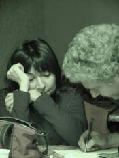 Mila Moretti e Nino Campisi - Una specie di Alaska di Harold Pinter - 2004