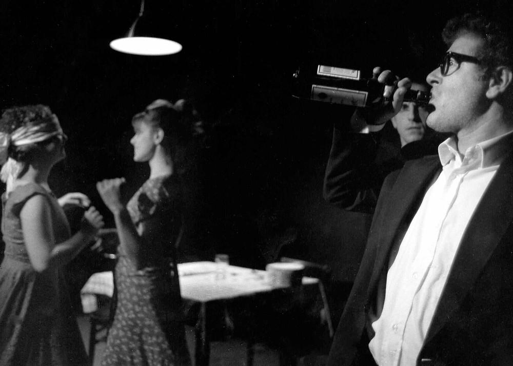 """Nino Campisi e la Compagnia Teatro Studio ne """"Il compleanno"""" di Harold Pinter (1999)"""
