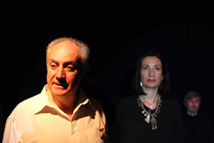 Maurizio Corrado e Simona Ortolani