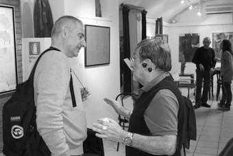 Lucio Dalla e Cesare Bastelli, Teatro del Navile, giugno 2011 (foto di Andrea Salvato) - 06