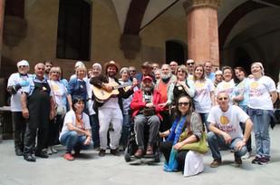 Foto di gruppo - Primo maggio con Civibo