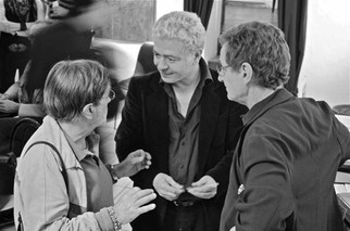 Lucio Dalla, Nino Campisi e Marco Marozzi al Teatro del Navile - 13.05.2011 - 5  (foto Teatro del Navile)