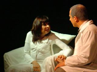Mila Moretti e Matteo Cotugno - Una specie di Alaska di Harold Pinter - 2004