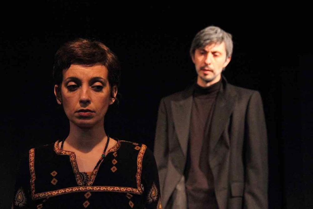 "Agnese Corsi e Fabio Garau in ""Antigone"" di Jean Anouilh"