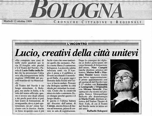 Lucio Dalla, creativi della città unitevi