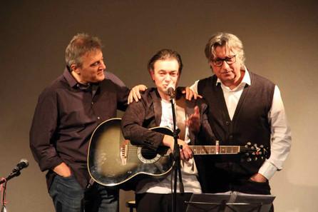 Gian Luca Naldi, Marco Belluzzo e Marcello Romeo