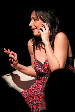 Madrugada di Maurizio Corrado, con Agnese Corsi e Simona Ortolani, 06.02.2011, f